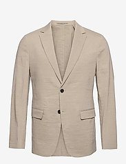 Theory - CLINTON UL - single breasted blazers - beige stone - 0