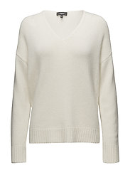 RELAXED VNECK PO.CAS - IVORY C05