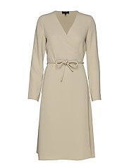 BELTED WRAP DR.CLASS - MIST GREEN
