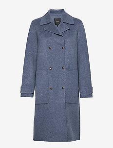 MILITRY TRNCH DF.NEW - wool coats - ydc.dark chambray