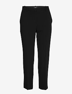 TAILOR TROUSER C.ADM - slim fit spodnie - black
