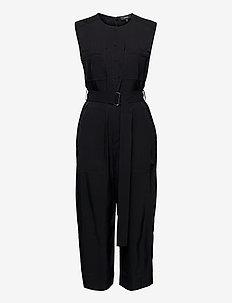CARGO JUMPSUIT - kleding - black