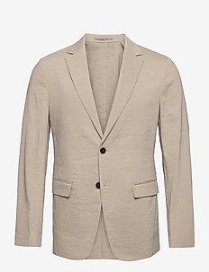 CLINTON UL - single breasted blazers - beige stone