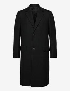 HUDSON COAT.BOND WOO - cienkie płaszcze - black