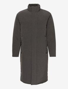 CASSON.PAPER NYLON - cienkie płaszcze - pewter