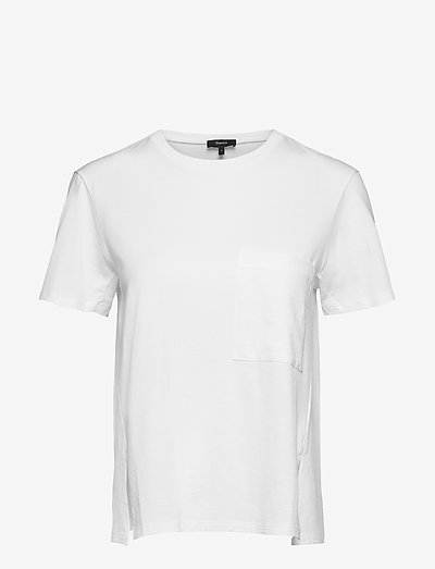 A LINE TEE - t-shirts & tops - white