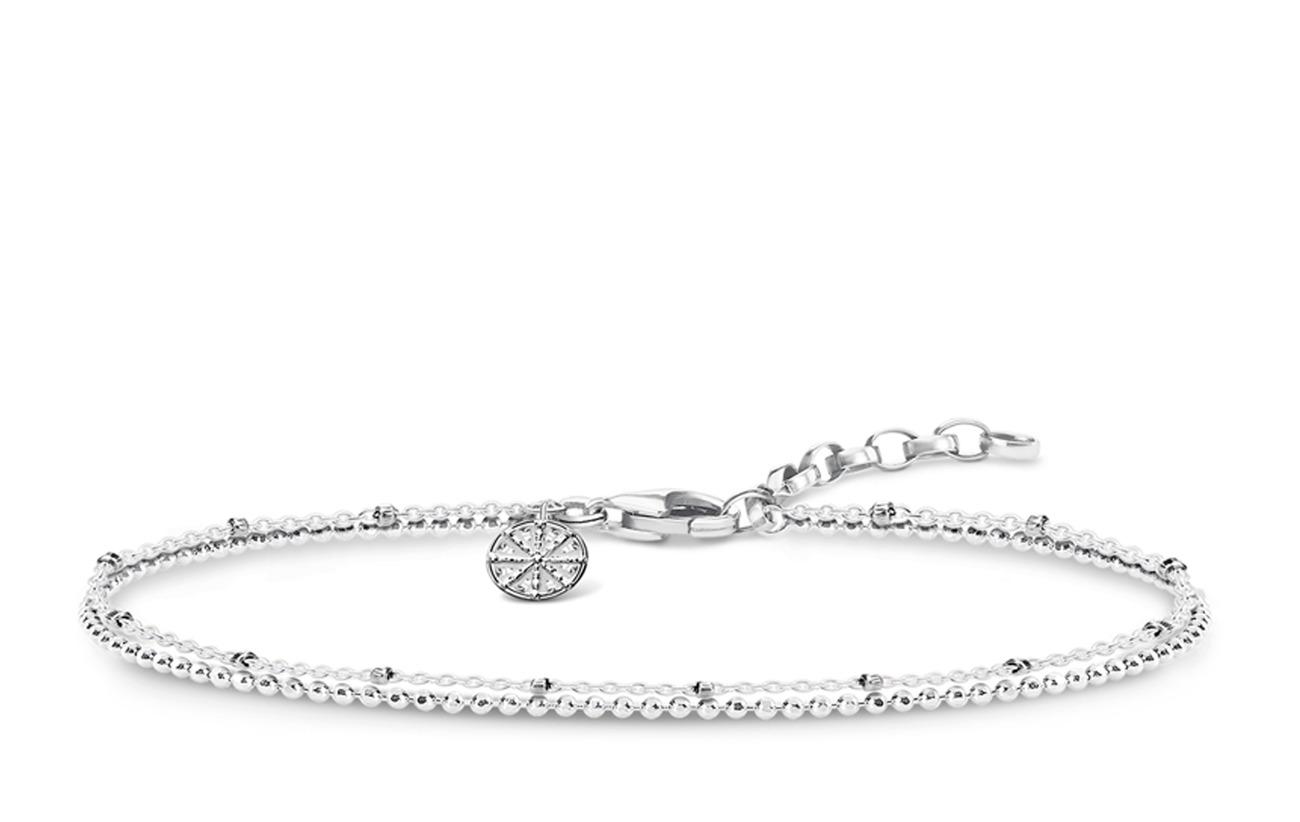 """Thomas Sabo bracelet """"Karma Wheel"""" - SILVER"""