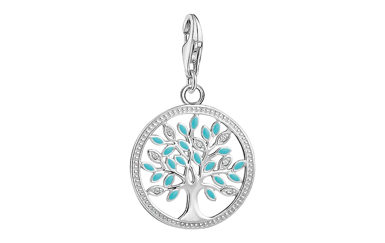 "Thomas Sabo Charm pendant ""Tree of Love"" - SILVER"