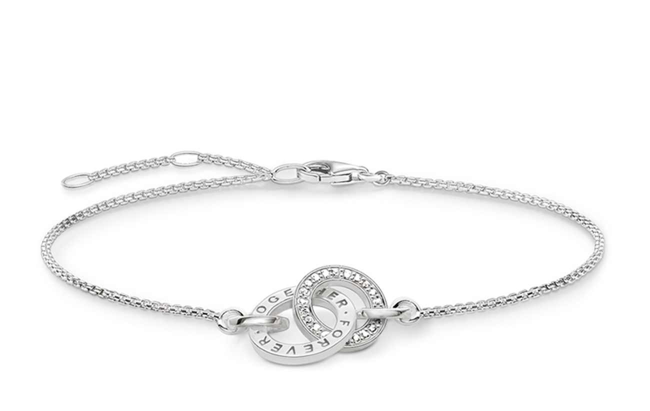 "Thomas Sabo bracelet ""Together Forever"" - SILVER"