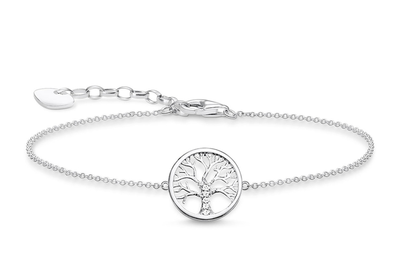 "Thomas Sabo bracelet ""Tree of Love silver"" - SILVER"