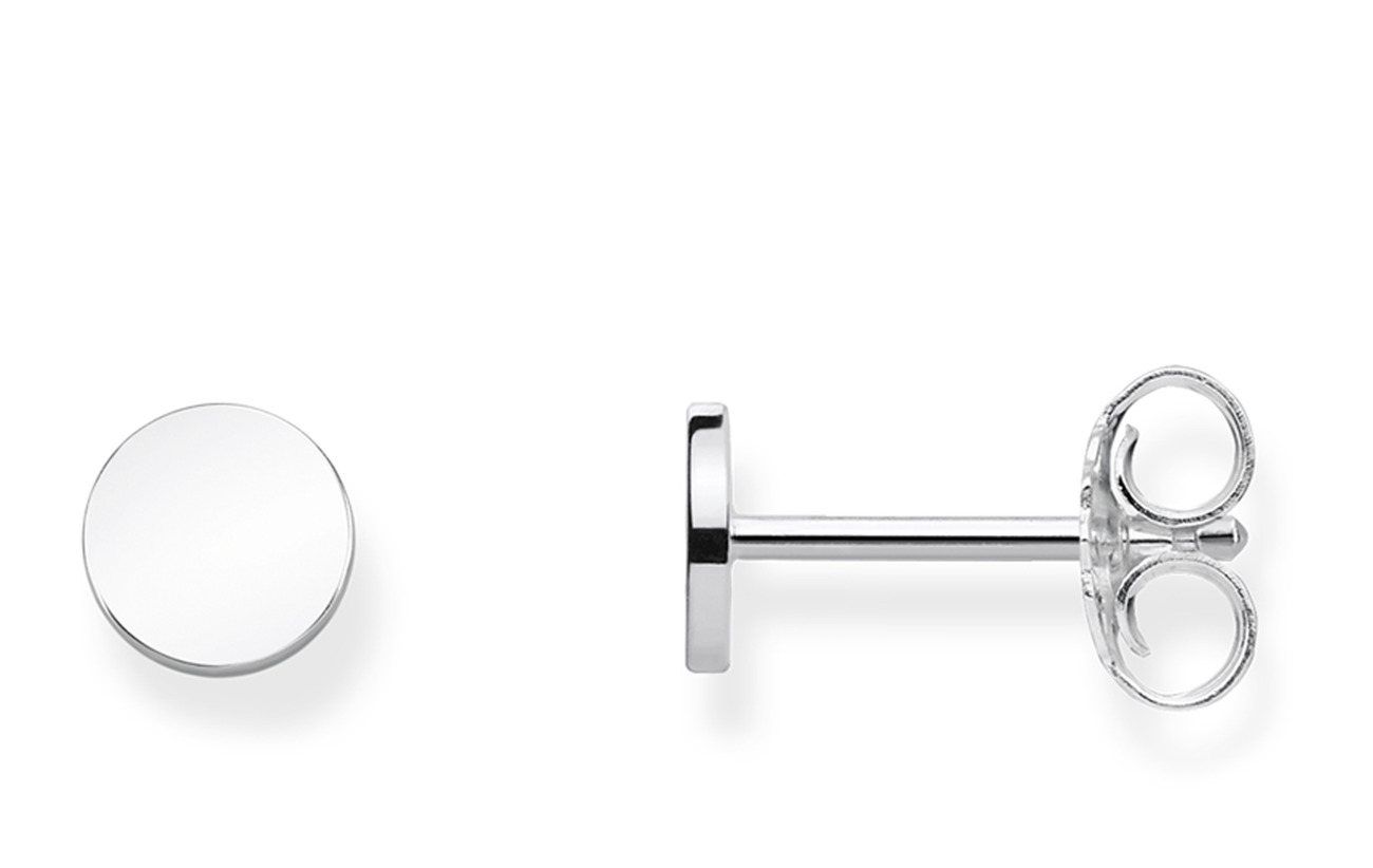 "Thomas Sabo ear studs ""Disc"" - SILVER"