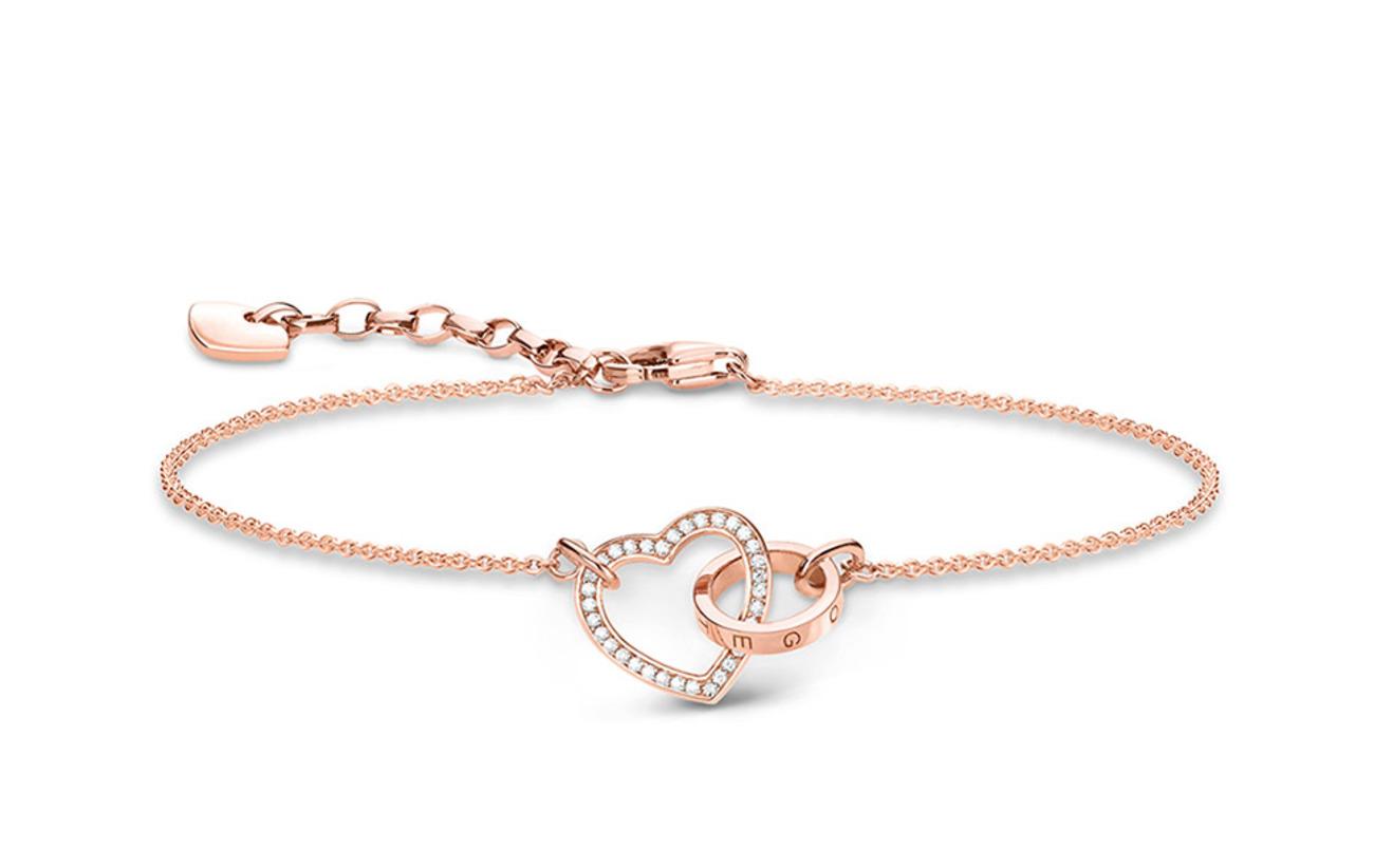 """Thomas Sabo bracelet """"Together Forever heart"""" - GOLD"""