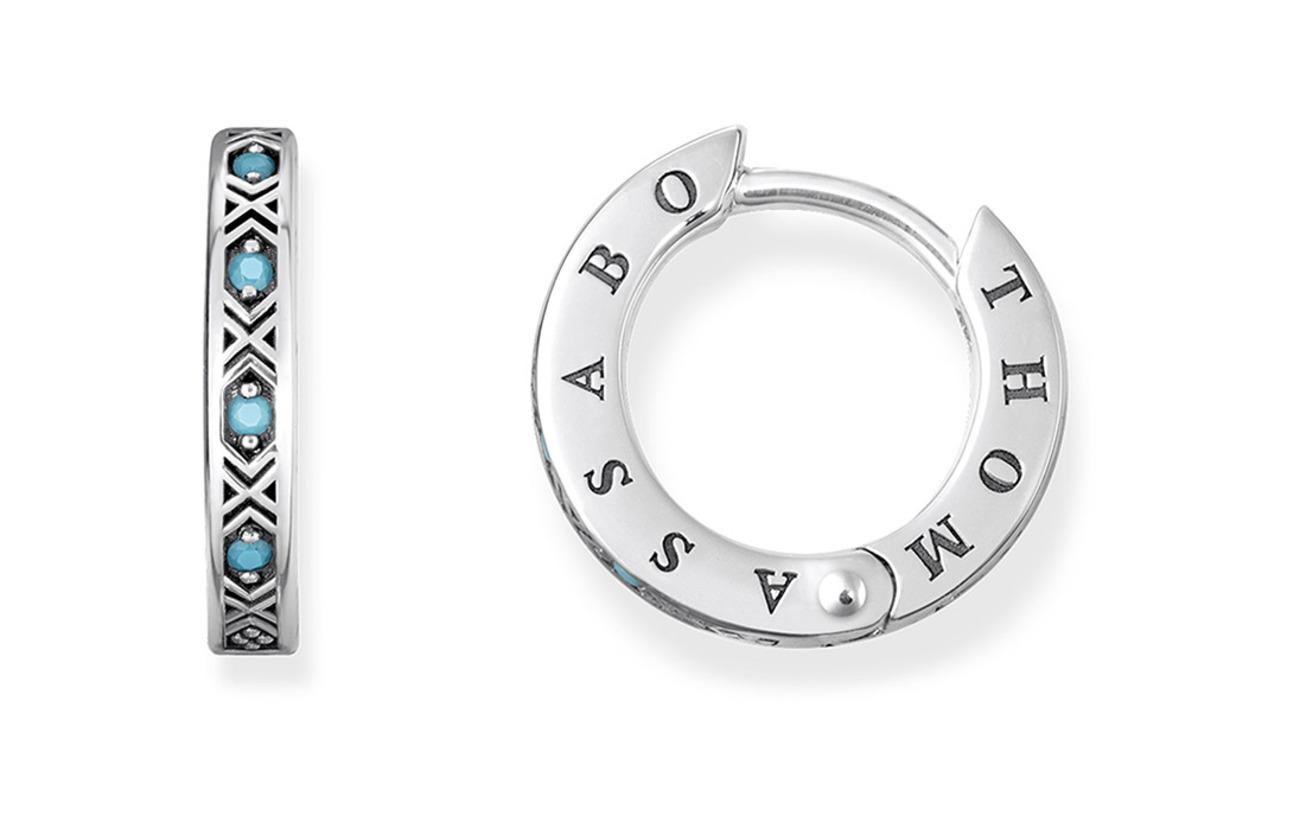 Thomas Sabo hinged hoops  Asian ornaments  Smycken