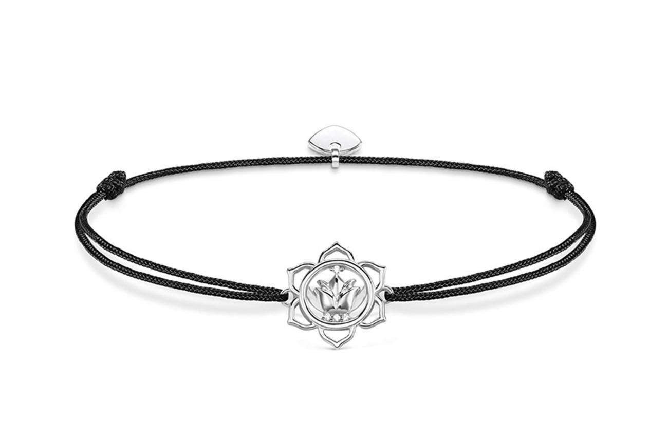 "Thomas Sabo bracelet ""Little Secret lotus flower"" - BLACK"