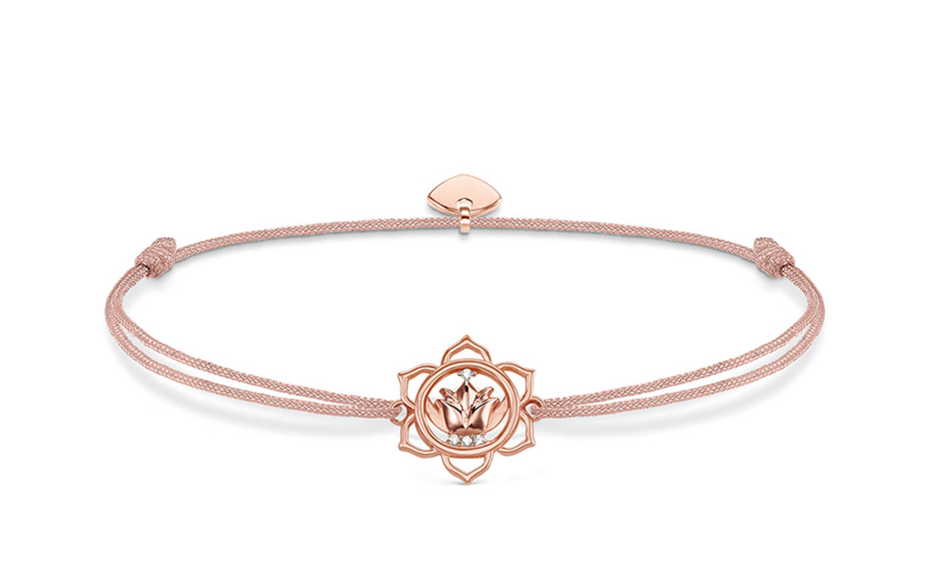 "Thomas Sabo bracelet ""Little Secret lotus flower"" - MULTICOLOURED"