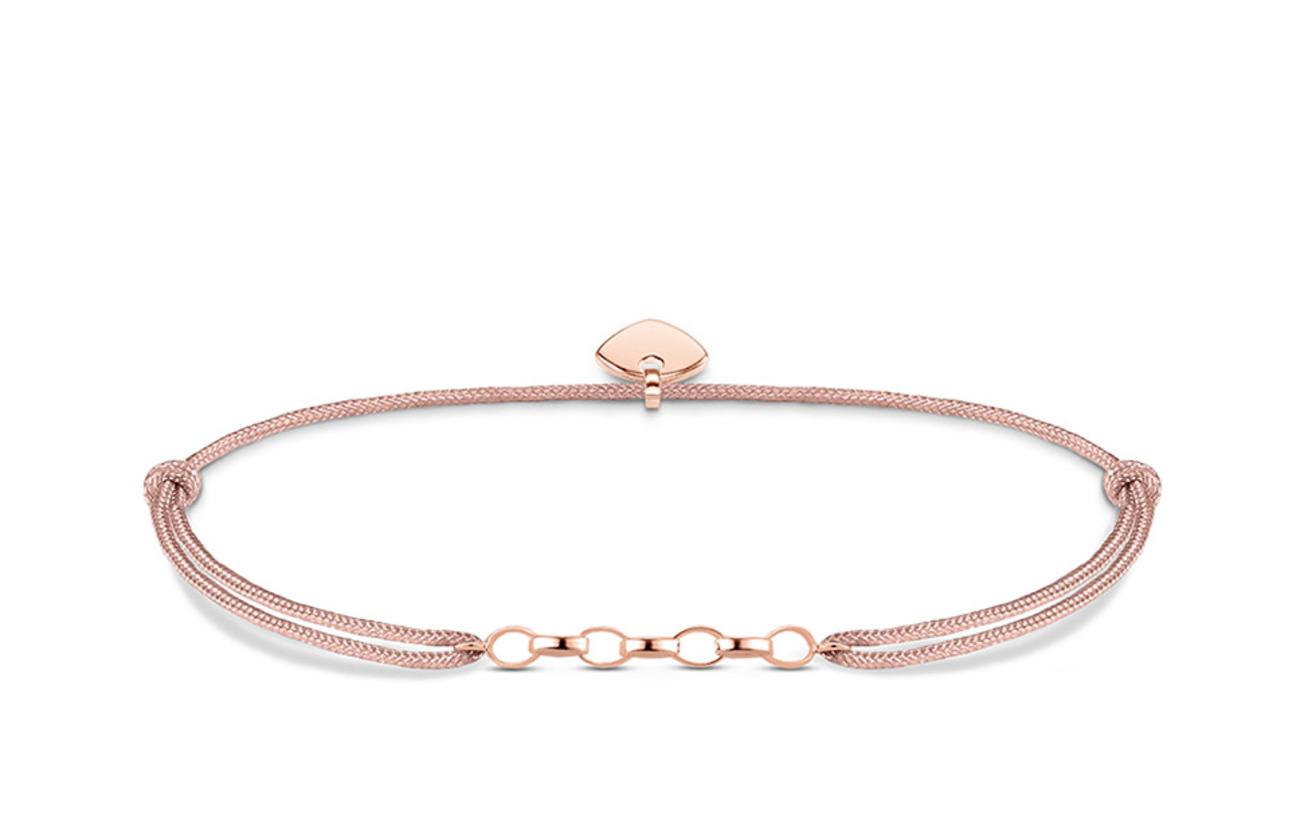 "Thomas Sabo Charm bracelet ""Little Secret"" - PINK"