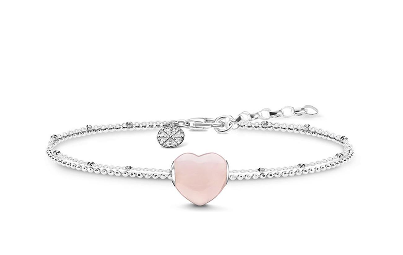"Thomas Sabo bracelet ""heart"" - PINK"