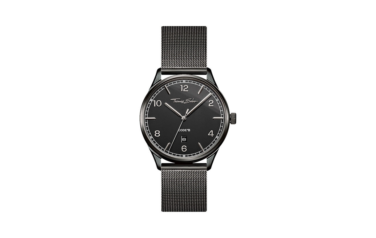 "Thomas Sabo Watch unisex ""CODE TS black"""