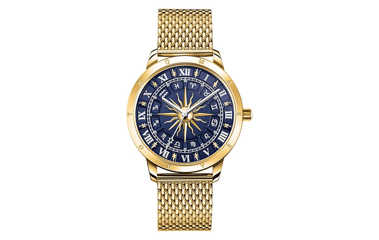 Thomas Sabo Watch Glam Spirit astro watch,  blue - GOLD