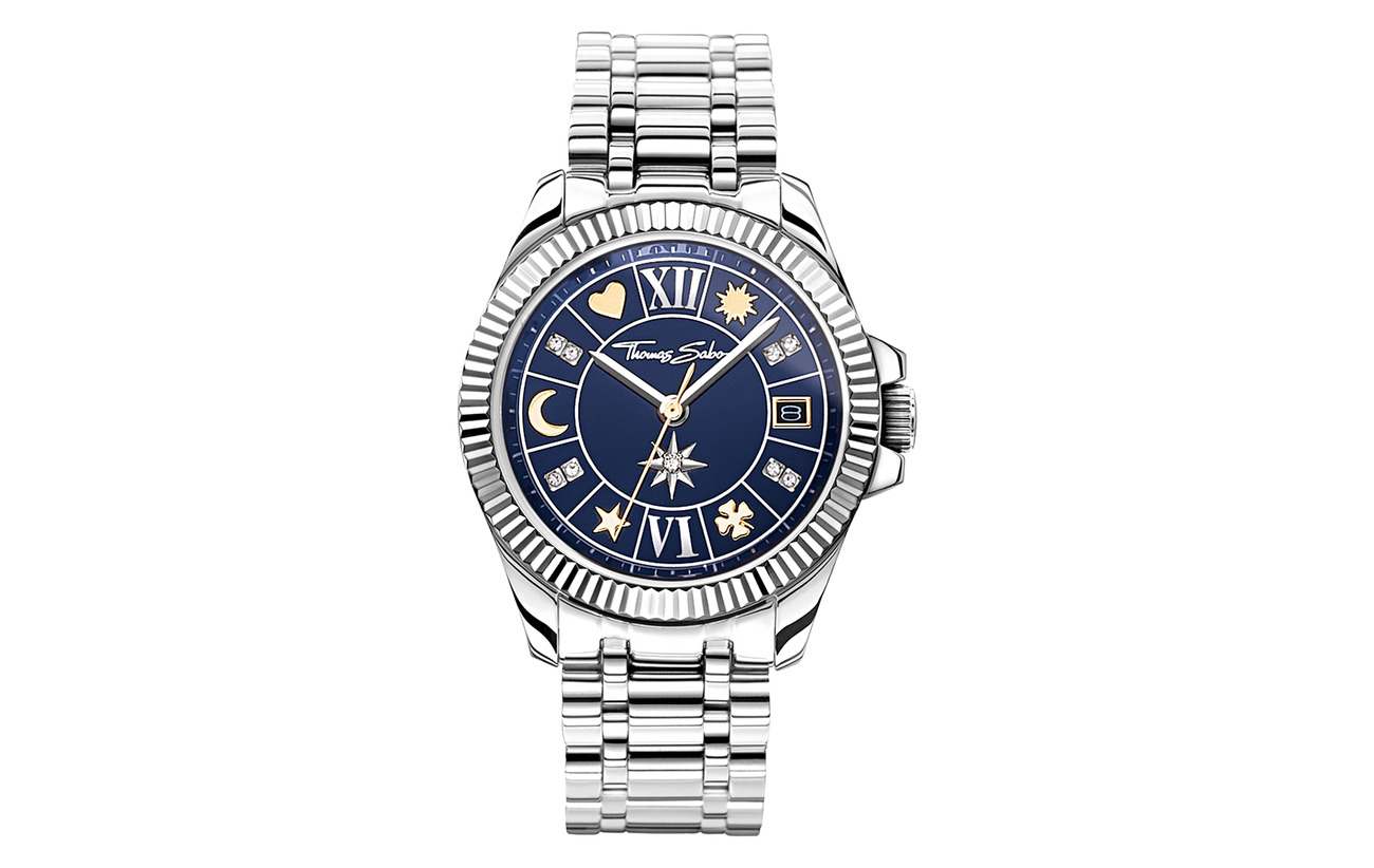 Thomas Sabo Watch Lucky charm,  two-tone - GOLD