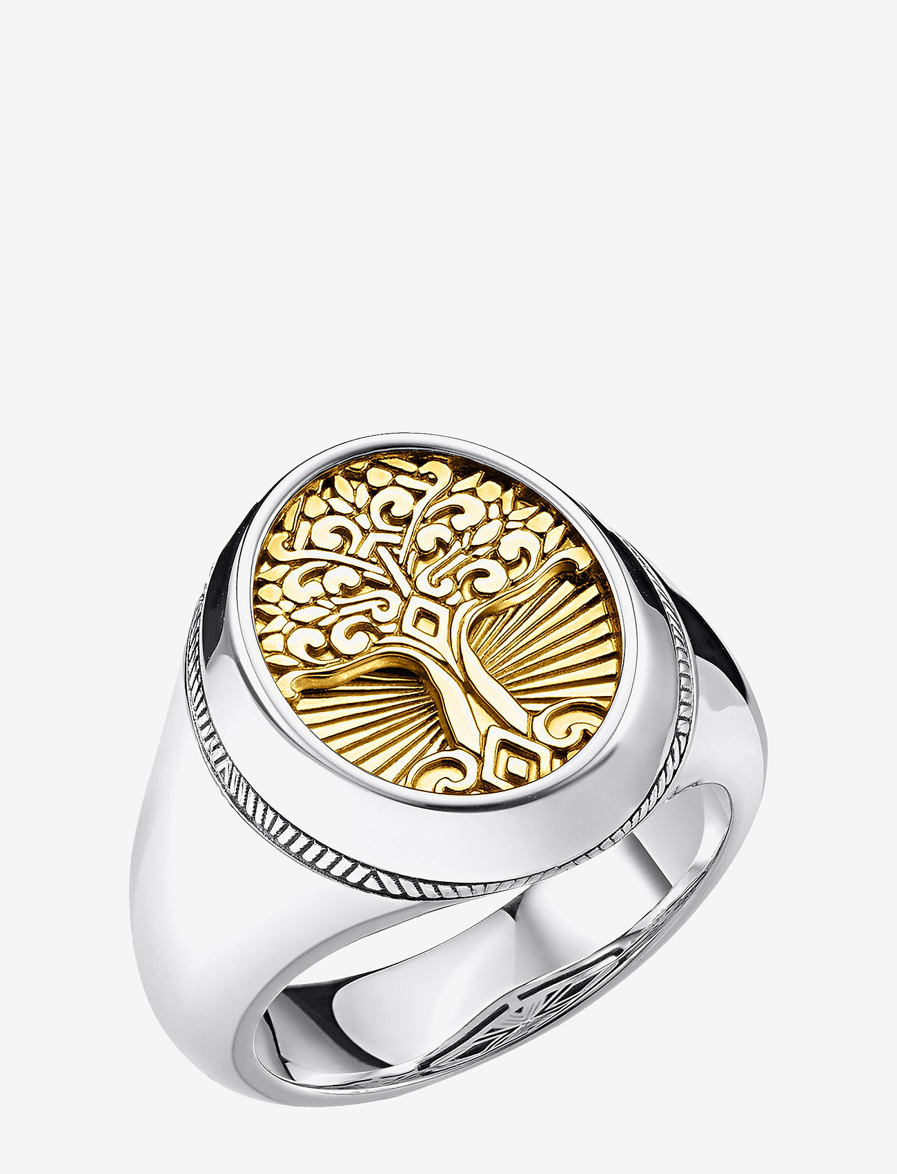 Thomas Sabo - Ring Tree of Love gold - sormukset - yellow gold-coloured - 0
