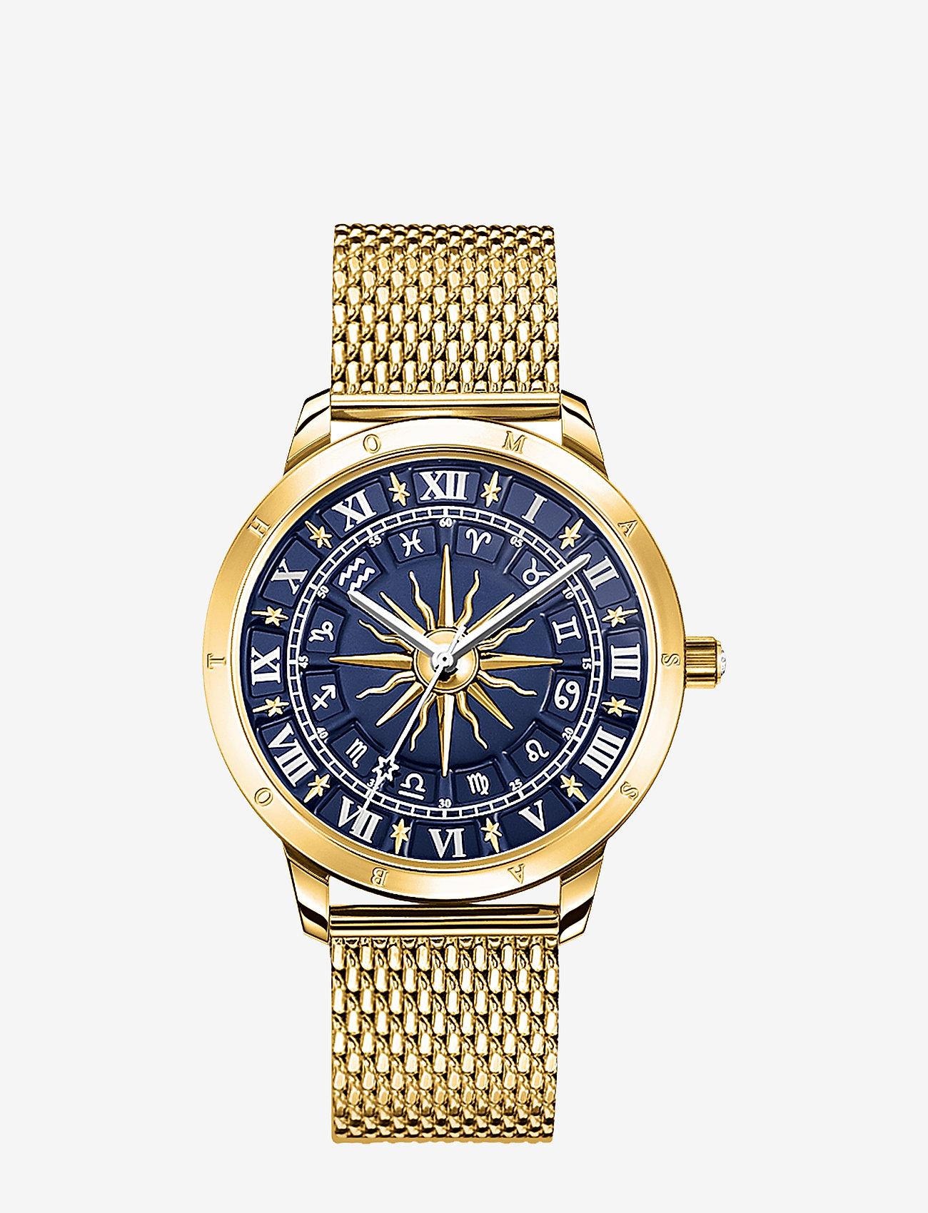Thomas Sabo - Watch Glam Spirit astro watch,  blue - klockor - gold - 0