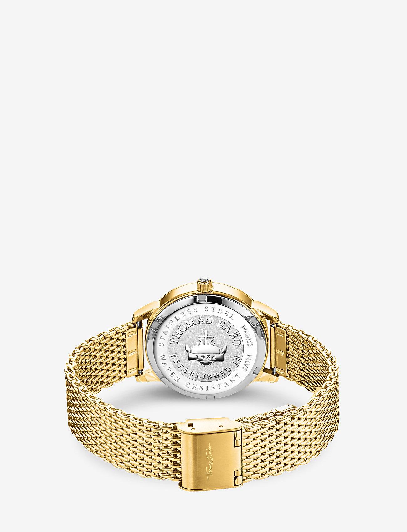 Thomas Sabo - Watch Glam Spirit astro watch,  blue - klockor - gold - 1