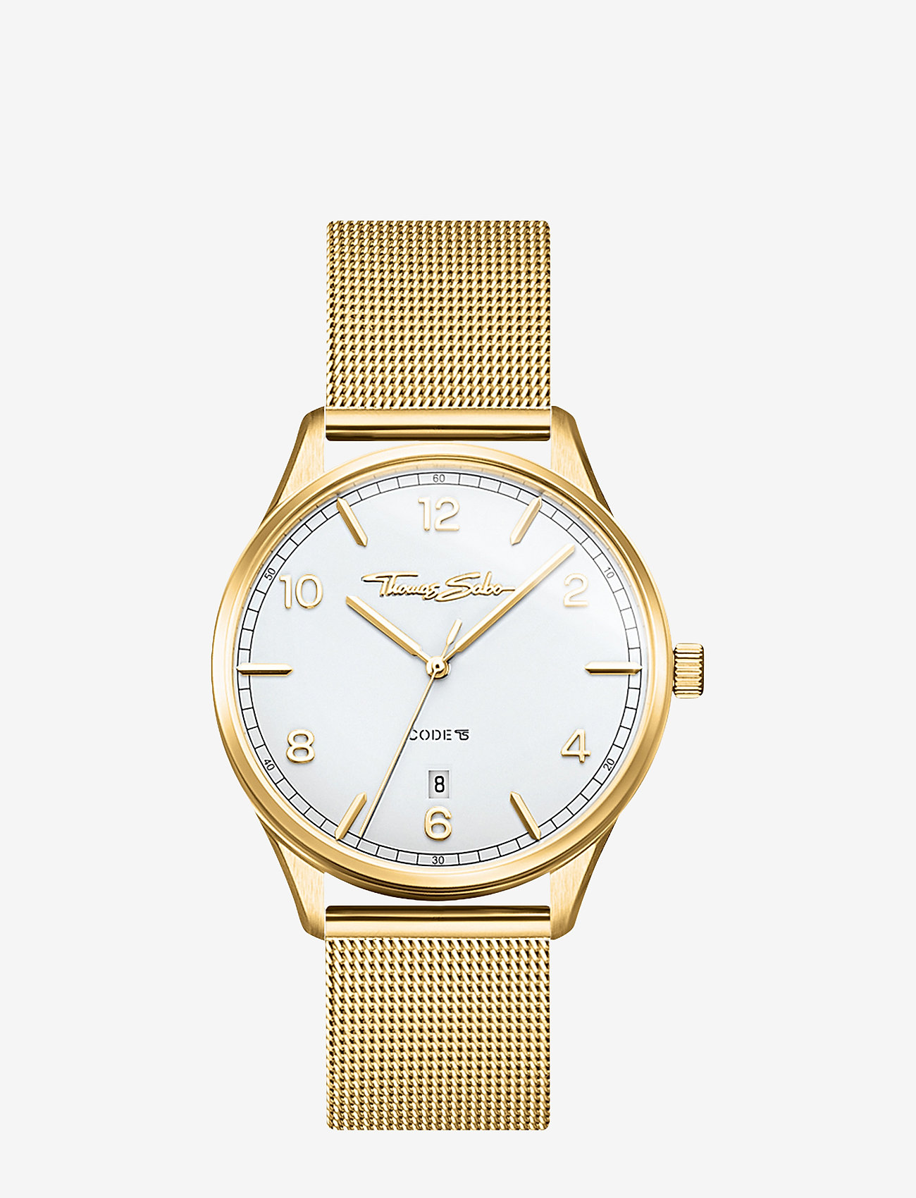 Thomas Sabo - Women's Watch Code TS small gelbgold - ure - yellow gold-coloured - 0
