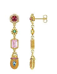 earRings scarab - GOLD