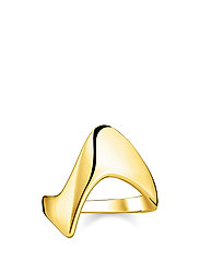"ring ""Heritage"" - YELLOW GOLD-COLOURED"