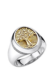 Ring Tree of Love gold - YELLOW GOLD-COLOURED
