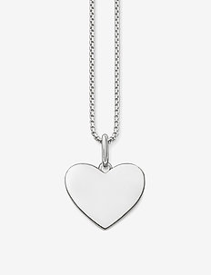 """necklace """"heart"""" - SILVER"""