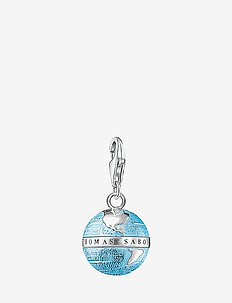 "Charm pendant ""globe"" - pendentifs - silver"
