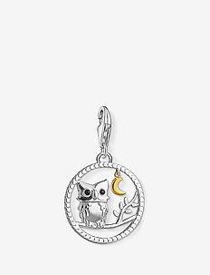 "Charm pendant ""Night owl"" - vedhæng - black"