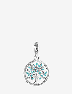 """Charm pendant """"Tree of Love"""" - vedhæng - silver"""