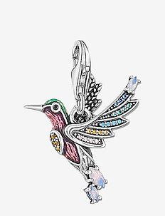 Charm-Pendant Hummingbird silver - anhänger - silver-coloured