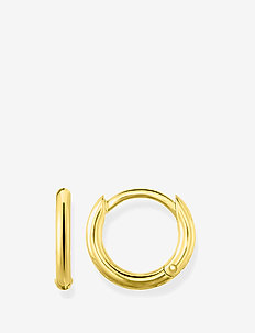 "hinged hoops ""classic"" - GOLD"