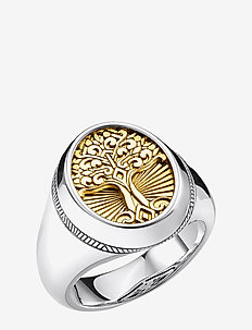 Ring Tree of Love gold - sormukset - yellow gold-coloured