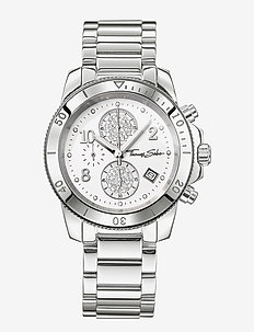 "Women's Watch ""GLAM CHRONO"" - klockor - dial white"