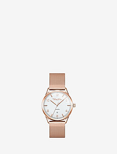 """Watch unisex """"CODE TS rose gold"""" - ROSé GOLD-COLOURED, WHITE"""