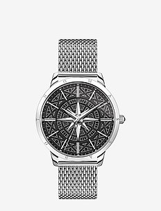 Watch Rebel Spirit compass - klockor - silver
