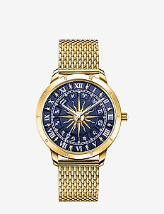 Watch Glam Spirit astro watch,  blue - klockor - gold