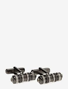 Thompson Cylinder Turbine Cufflinks - manschettknoppen - grey