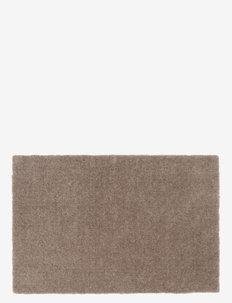 Floormat polyamide, 60x40 cm, unicolor - huonekalut eteiseen - sand/beige