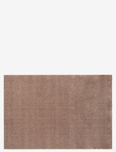 Floormat polyamide, 130x90 cm, unicolor - huonekalut eteiseen - sand/beige