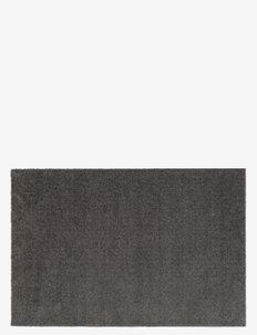 Floormat polyamide, 90x60 cm, unicolor - dørmatter - steelgrey