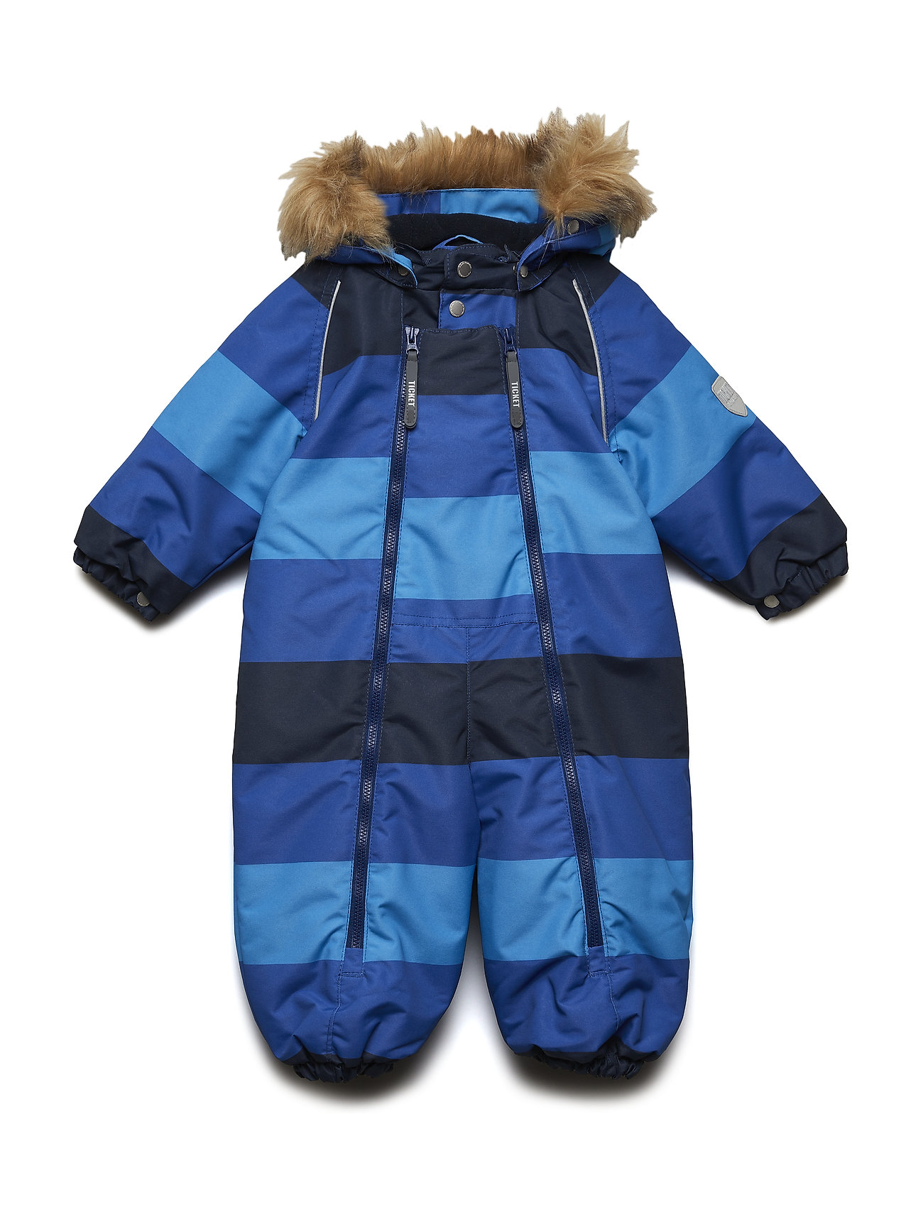 Ticket to Heaven Snowsuit Baggie with detachable hood allover - TOTAL ECLIPSE