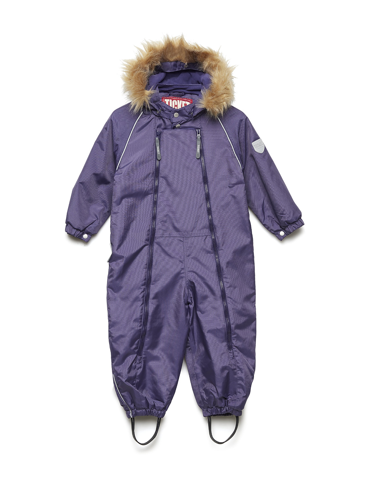 Ticket to Heaven Suit snowbaggie with detachable hood - DEEP WISTERIA