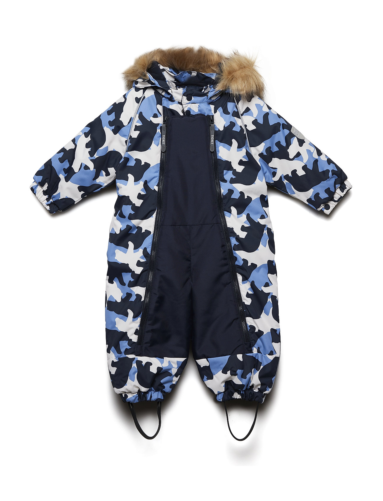 Ticket to Heaven Suit snowbaggie Finn with detachable hood allover - TOTAL ECLIPSE