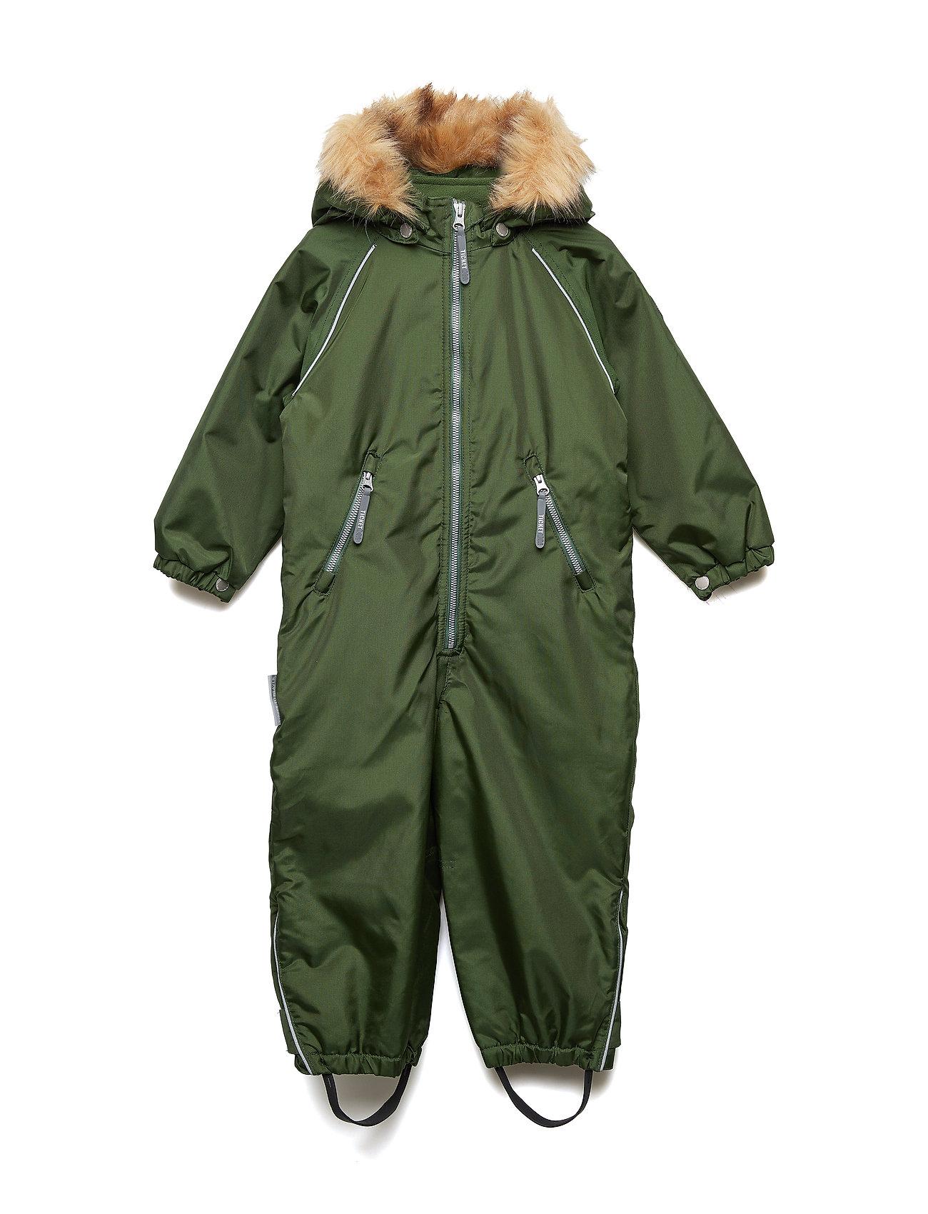 bffcbb2056a Suit Snowbaggie With Detachable Hood Flyverdragt Overtøj Grøn TICKET TO  HEAVEN